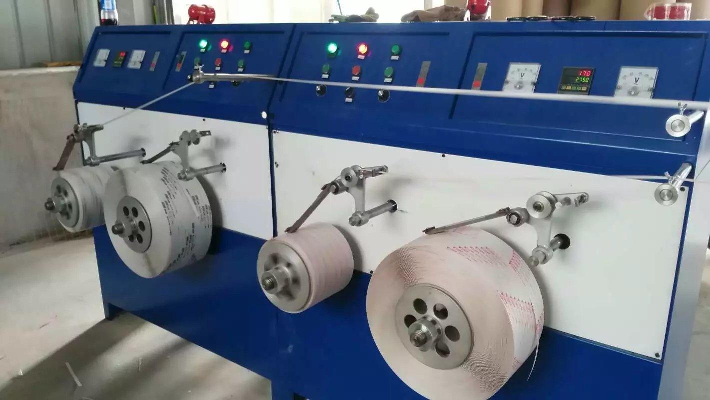 PP打包带生产线收卷机